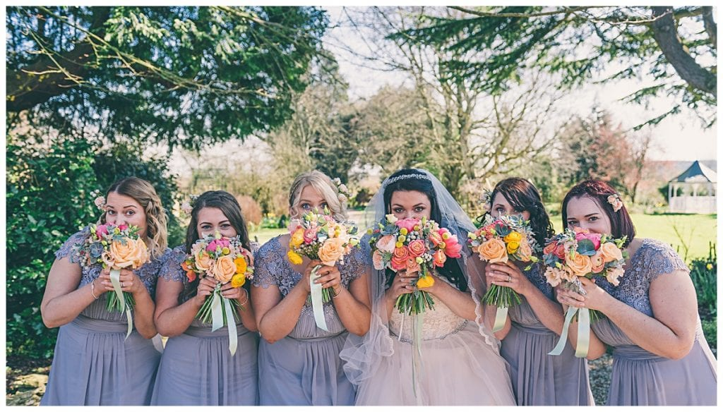Bride and bridesmaids bouquets | bijouxfloral.co.uk
